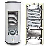 Termoacumulación solar combinada para producción instantánea de agua caliente sanitaria y agua de calefacción (300 litros)