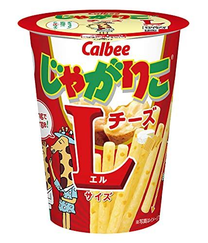 カルビー じゃがりこチーズLサイズ 70g×12個