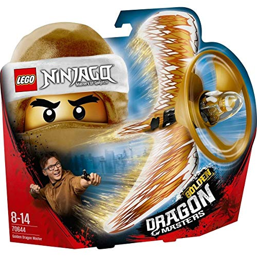 LEGO®NINJAGO® Goldener Drachenmeister (70644) cooles Kinderspielzeug