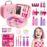 Esnowlee Makeup Kit for Girls Real Kids Makeup Kit Washable Non Toxic Make Up Set for Toddler Children Christmas Birthday Gifts Present for 5 6 7 8 9 10 Year Old Girls Gift