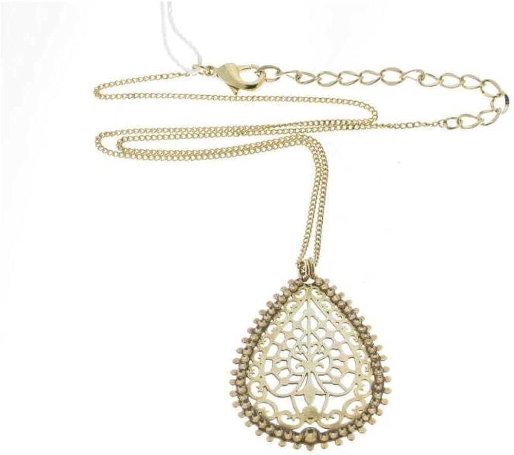Stroili colla per donna in metallo dorato con cristalli 1509595