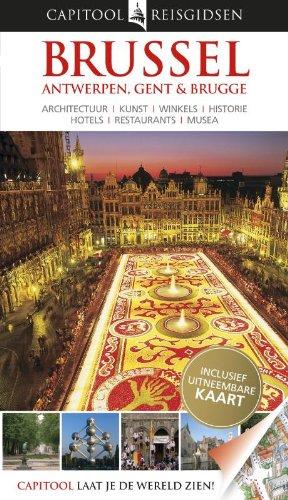 Capitool reisgidsen Brussel, Antwerpen, Gent & Brugge