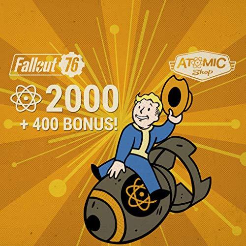 Fallout 76: 2000 (+400 Bonus) Atoms - PS4 [Digital Code]