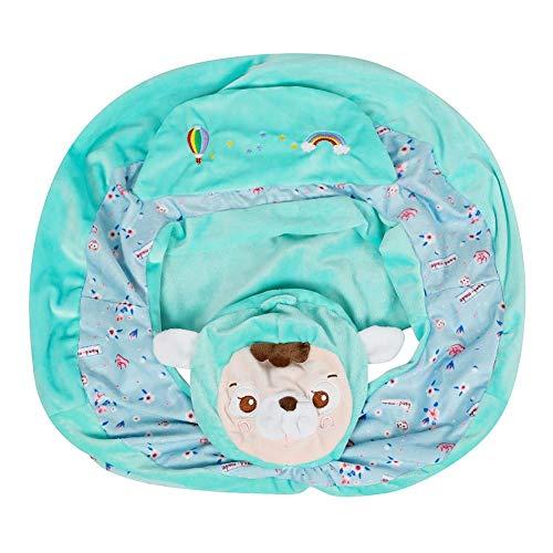 Funda para sofá de bebé, diseño floral, para silla de bebé, diseño de flores, para aprender a sentarse, funda de silla (G)