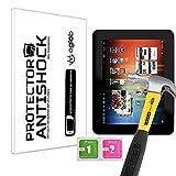 Protector de Pantalla Anti-Shock Anti-Golpe Anti-arañazos Compatible con Tablet Mediacom SmartPad 850i