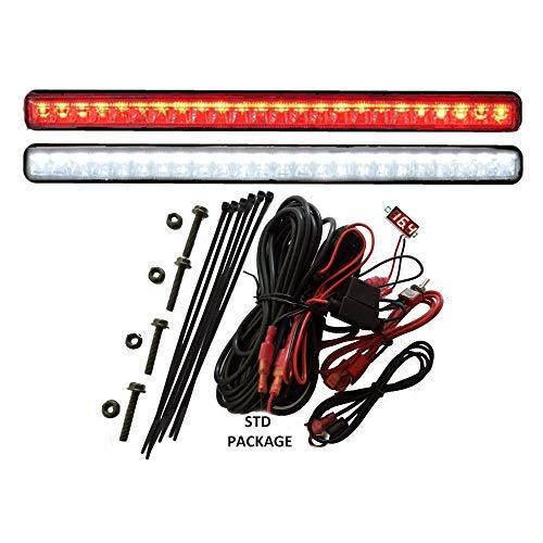 TecScan LiTESeasy Standard Golf Cart LED Lights Kit & Integrated Voltmeter