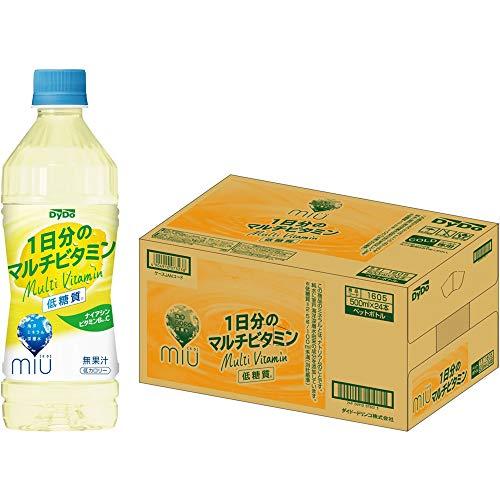 ダイドードリンコ ミウ 1日分のマルチビタミン 500ml ×24本