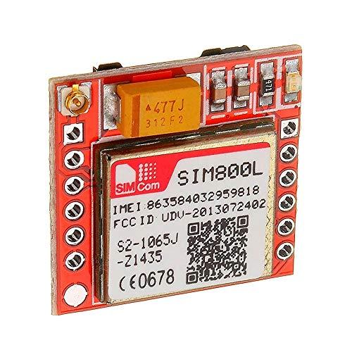 Voltaje: 3.7~4.2V LDTR-WG0285 Placa adaptadora SIM800L GPRS gsm eficiente Módulo de búsqueda...