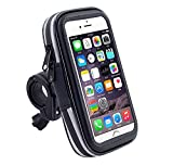 Jlyifan Cycling Bike Bicycle Mount Waterproof Phone GPS Holder Case for iPhone 11 Pro Max/Samsung Galaxy S20+/ Motorola Moto G8 Plus/LG V50 ThinQ/Google Pixel 4 XL/Huawei P40 / Xiaomi Redmi Note 8
