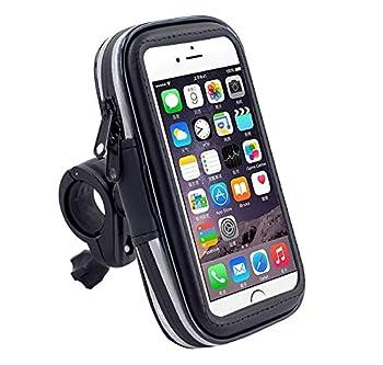 Premium Touch Screen Bike Mount Rugged Waterproof Case Bicycle Handlebar Holder for iPhone 7 / Samsung Galaxy S7 / Google Pixel/BLU R1 / LG K3 / Tribute HD/Motorola Moto G5 4.7-5 in Smartphone