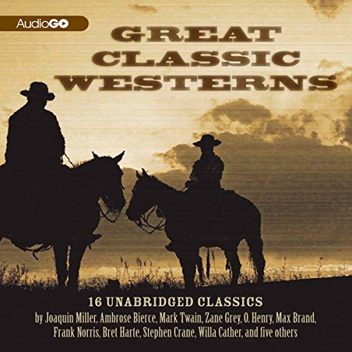 Great Classic Westerns audiobook cover art
