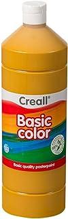 Creall Havo01817 1000 Ml 17 Ochre Havo Basic Color Poster Paint Bottle