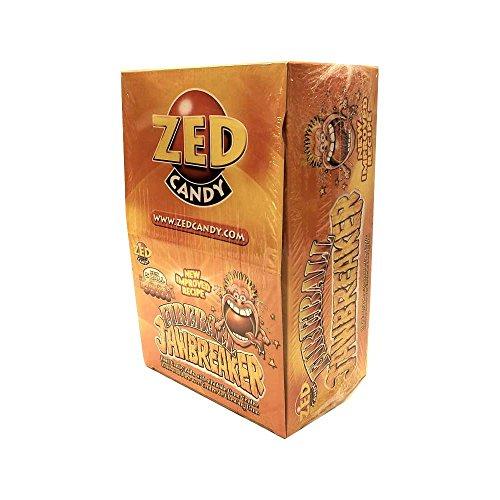 ZED Candy Fireball Jawbreaker, Fireballbonbons mit Kaugummikern (40 x 5 Stk pro Box)