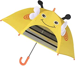 りんstyle 子供用 傘 透明 キッズ傘 グラスファイバー骨使用 軽くて丈夫 可愛い 前が見える 通学 雨具 男の子 女の子 幼稚園