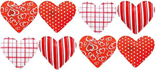 MIK Funshopping Handwärmer Taschenwärmer Sets (8er-Set Herzen Warming Hearts)