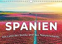 Spanien - Sonne und Temperament (Wandkalender 2022 DIN A4 quer): Ein Land der Sonne und des Temperaments. (Monatskalender, 14 Seiten )