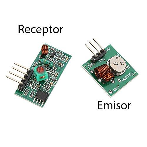 Module émetteur et récepteur RF 433 MHz Contrôle à distance sans fil pour Arduino