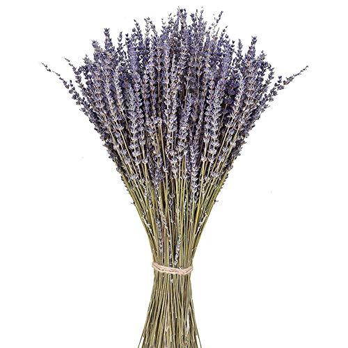 PTVwire Ramos de lavanda secas 100% natural para decoración del hogar, fragancia del hogar, flores de jabón hechas a mano