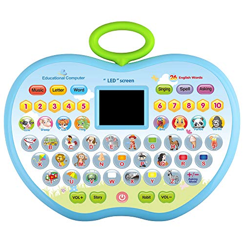 Toys Gift for 2 Year Old Girl , Educational Toys for 1-3 Year Olds Boys Girls Kid Computer Toys for 4 Year Olds Girl Toy Gift Age 1-4 Boy Children Toy for 18-36 Months Toddler Girl Tablet Toys Student