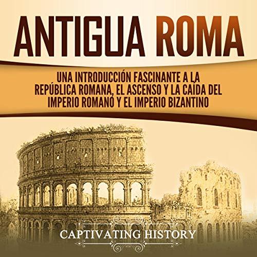 Diseño de la portada del título Antigua Roma