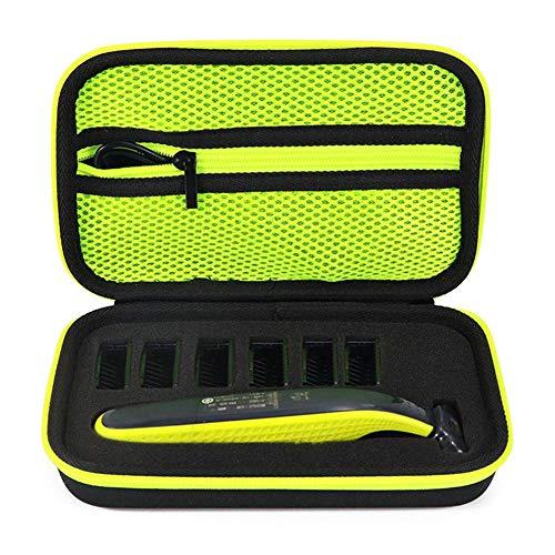 Hoesje voor Philips OneBlade Trimmer & Shaver QP2520/90 QP2520/70 QP2630/70 QP2530, EVA Hard Case met Sponge, Travel Carrying Case Opbergtas voor één mes