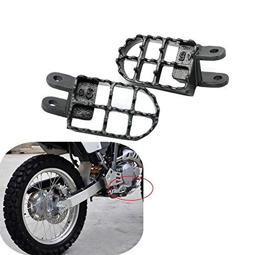 Estriberas de pie para motocicleta, para XR250 XR 250 400 CR80 XR650L 96-05 XR350R 83-84 XR600R 89-00 XR650R 00-05 estriberas de acero reposapiés para motocross