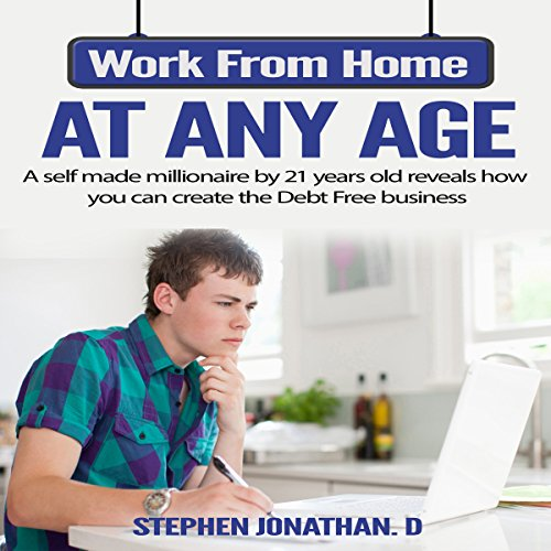 Work from Home at Any Age audiobook cover art