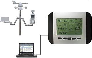 プロフェッショナルウェザーステーション、ワイヤレスセンサー、PCに接続可能、ホーム天気予報