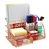 Comfook Organizador De Escritorio, Soporte De Archivo De Escritorio Con Cajón Deslizante para escritorio, papelería, hogar, oficina
