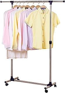 JIAYING Séchoirs à linge Space-Saving Blanchisserie Rack, vêtements Pliable sécher le linge Rack, vêtements en métal Etend...