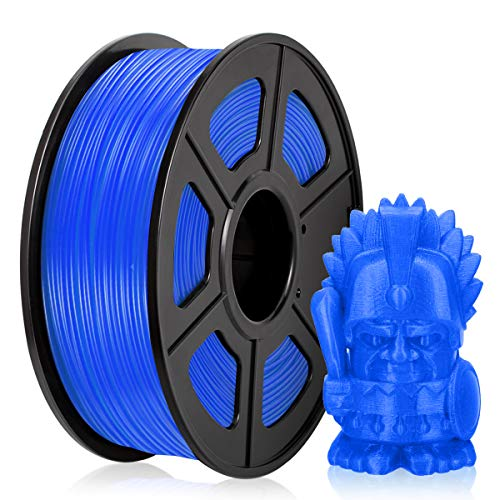 Filamento PETG 1,75MM, PETG Filament Stampanti 3D, PETG Bleu 1KG Spool