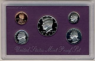 1991 S Clad Proof 5 Coin Set in Original Government Packaging Proof