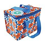 Bolsa térmica para el almuerzo, diseño floral (Rubí Astrido)