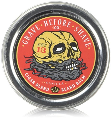 GRAVE BEFORE SHAVE Cigar Blend Beard Balm (Cigar/Vanilla scent) (2 oz.)