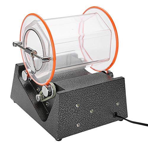 Máquina pulidora giratoria de barril de joyería de 5 kg, 270 * 220 * 110 mm, pequeña máquina pulidora doméstica para limpieza y pulido de joyas 220 V 60 W enchufe de la UE