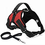 No Pull Dog Harness subjoin Leash,Dog Body Vest Comfort Control Breathable Adjustable,for Small
