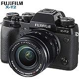 Fujifilm X-T2 24.3MP 4K Video OLED Viewfinder Mirrorless Digital Camera with 18-55mm Lens 16519314 - (Renewed)