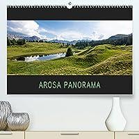 Arosa Panorama (Premium, hochwertiger DIN A2 Wandkalender 2022, Kunstdruck in Hochglanz): Wunderschoene Bergpanoramen und idyllische Seen rund um Arosa (Monatskalender, 14 Seiten )