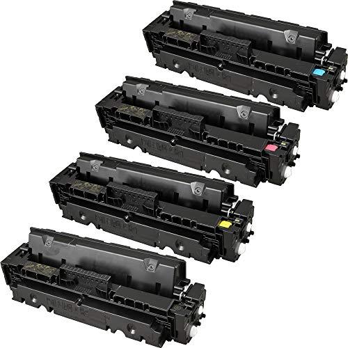 4 Ampertec Toner für HP CF410X-413x 4-farbig