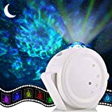 Christmas Gifts Clearance LED Laser Starry Projector Nebula Clouds Sky Night Light for Ceiling Decoration,Party,Home Theatre - Black