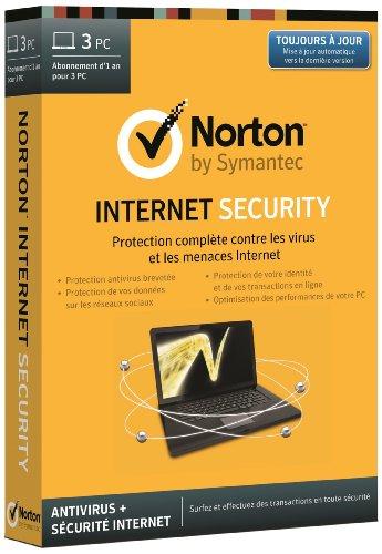 Norton internet security 2014 (3 postes, 1 an)