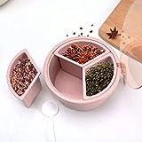 QQDL Gewürz Kartei Spice Box Gewürzglas Küchenutensilien,Gewürzstreuer Haushaltsgewürze,Zur Aufbewahrung,Verwendet in Küchenschränken und Arbeitsplatten,Wasserdicht,Vermeiden Sie Milben,Versiegelte