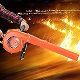 AMONIDA Spazzaneve da 16,5 x 10,6 x 13,4 Pollici, soffiatore da Neve per Serra, Impugnatura Morbida Ammortizzante 68 CC per rimozione della Polvere antincendio boschivo