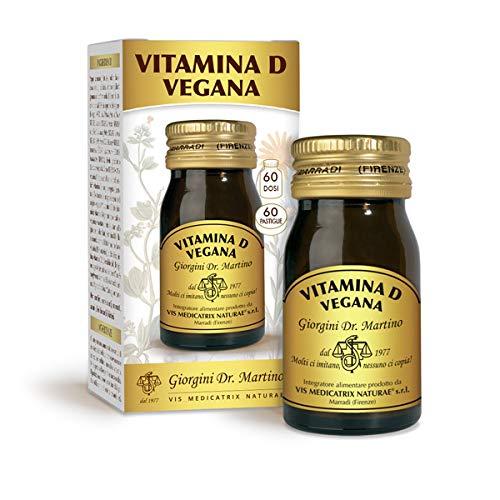 Dr. Giorgini Vitamina D Adatta Ai Vegani, 60 Pastiglie da 500 Mg