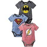 Popfunk Superman Super Baby Onesie Bodysuit, 12...