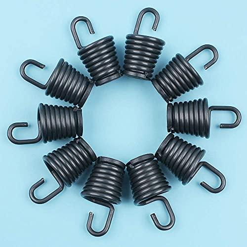 10 unids/lote soporte de resorte de amortiguador de choque aislador Compatible con Partner 350351370371390420 motosierra nuevas piezas