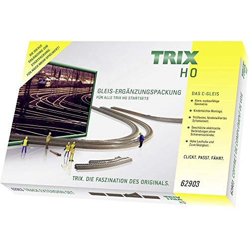 TRIX T62903 C-Gleis-Ergänzungspackung Modelleisenbahn C3 H0