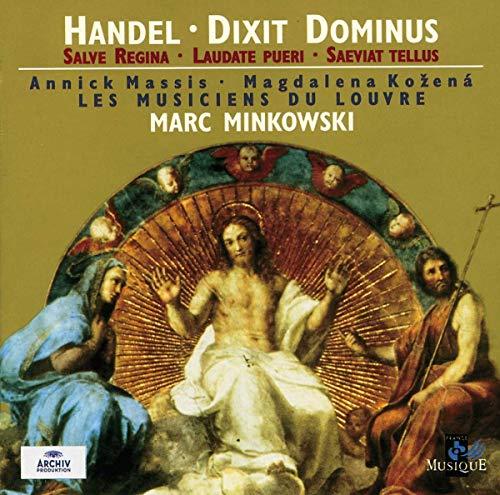 Handel - Dixit Dominus · Salve Regina · Laudate pueri · Saeviat tellus / Massis · Kozená · Fulgoni · Henckens · McLean-Mair · Pujol · Les Musiciens du Louvre · Minkowski