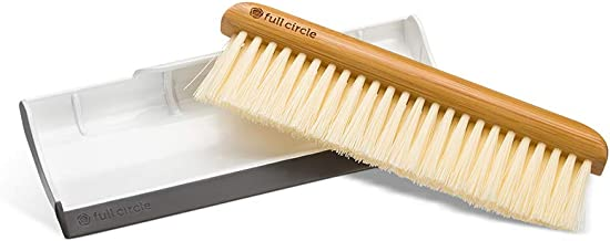 Full Circle Crumb Runner, Counter Sweep and Squeegee, White