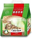 Arena para gatos CAT'S BEST Öko Plus, 4 x 10 l